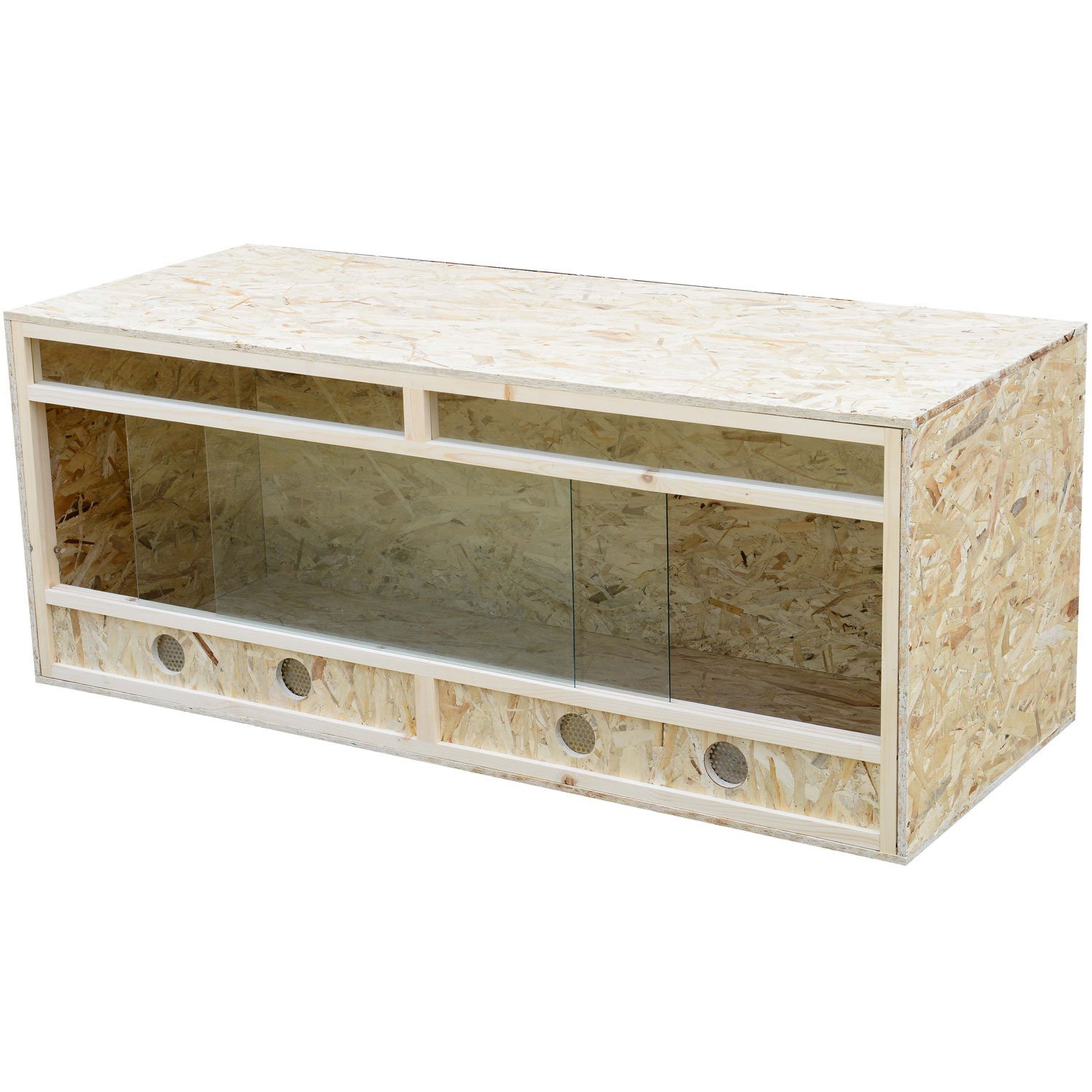 Pawhut 5ft Reptile Pet Vivarium Home House Terrarium Habitat Leopard...