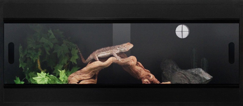 Pro Reptile Vivarium BLACK 36