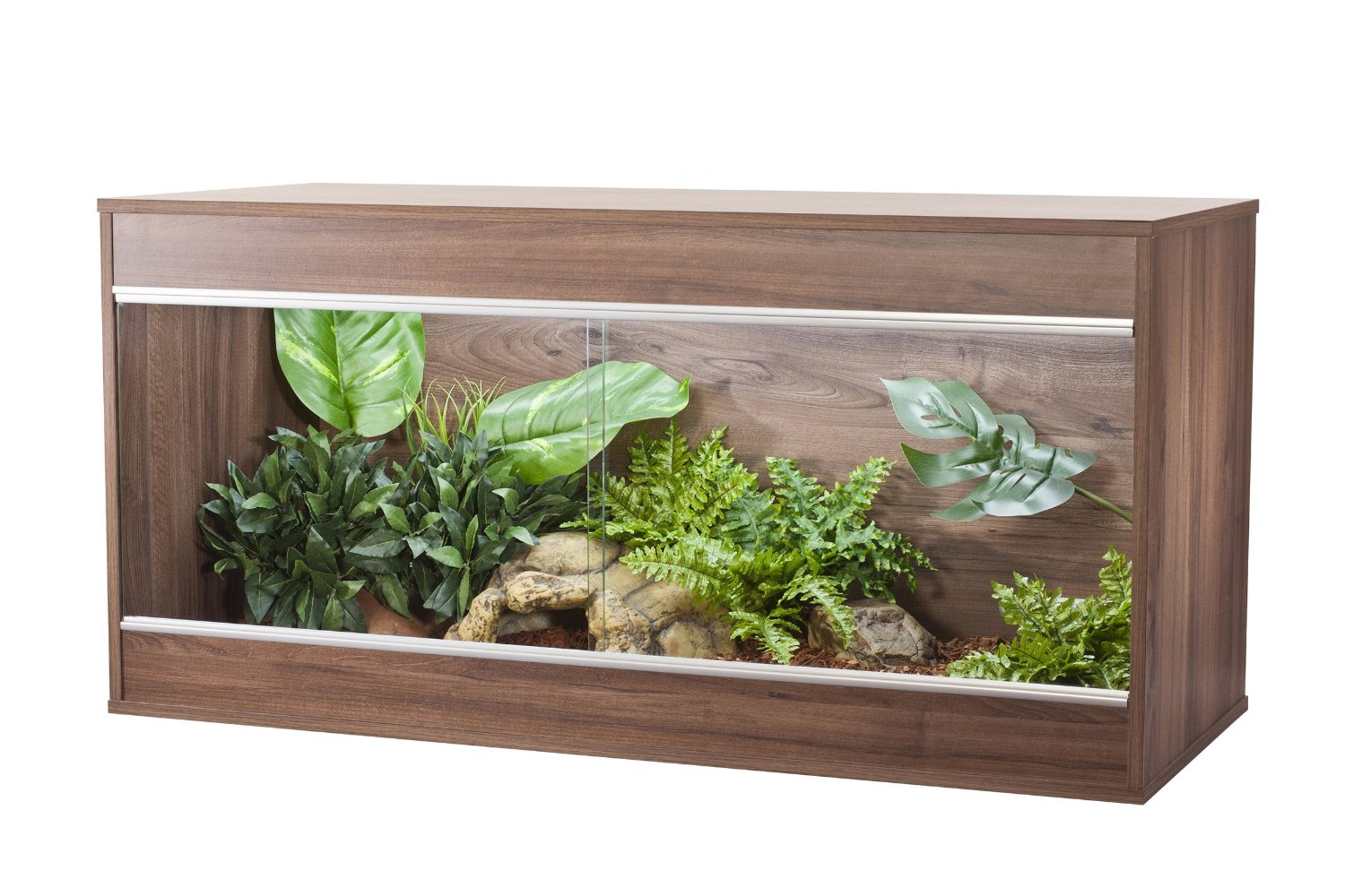 Vivexotic Repti-Home Vivarium Maxi Large - Walnut
