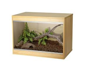 Hagen Vivexotic LX24 NEW Repti-Stax Vivarium Small - BEECH by VivExotic