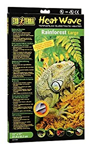 Exo Terra Heatwave Rainforest Heat Mat, 28 x 43 cm, Large