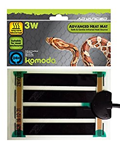 Komodo Advanced Heat Mat 3W (96x146mm)