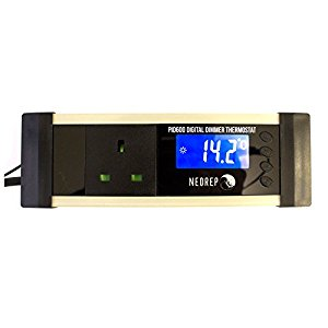 Digital Reptile Vivarium LCD PID Dimmer Thermostat Heat Mats Ceramic Heaters Lamps / Temperature Controller 600 Watt / Dimming