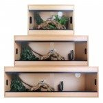 What is the right size for a bearded dragon vivarium?