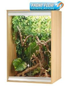 Vivexotic AX24 NEW Tall Arboreal Reptile Vivarium Small BEECH