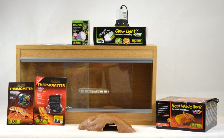 Vivexotic Leopard Gecko Vivarium Starter Kit