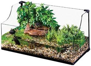Exo Terra Turtle Terrarium, Medium, 60 x 45 x 30/45 cm