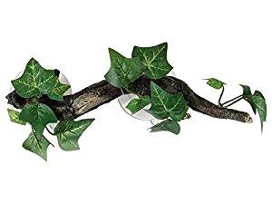 Repstyle Sucker Mounted Branch with Flora Vivarium Ornament, 23 cm