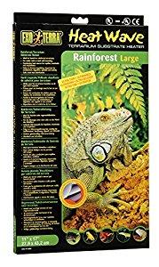 Exo Terra Heatwave Rainforest Heat Mat, 28 x 43 cm, Large