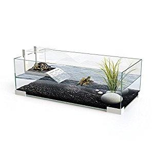 Ciano Tartarium 60 Turtle Terrapin Reptile Glass Tank with Ramp