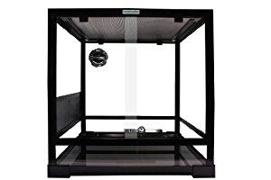 Komodo Flat Packed Glass Terrarium, 60 x 45 x 60 cm