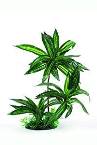 RepTech Fake Plant, triple bromeliad
